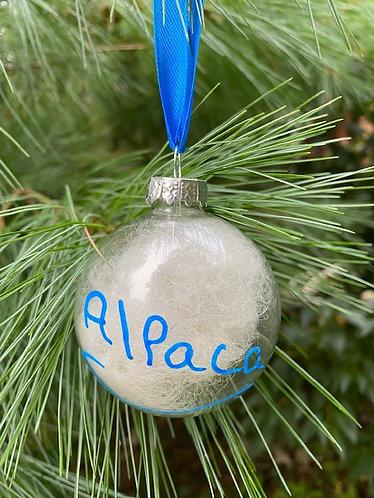 Fiber filled Christmas Ornament