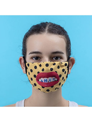 Mascherina Toiletpaper - Teeth Pois