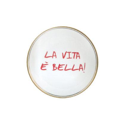 """Piattino """"La Vita è Bella"""""""