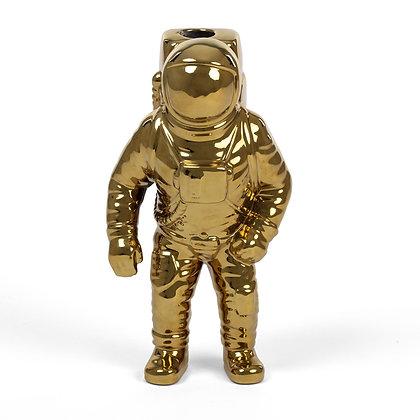 Cosmic Diner Starman Vase Gold