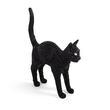 Cat Lamp Jobby Black