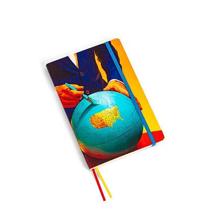 Toiletpaper Notebook Big Globe
