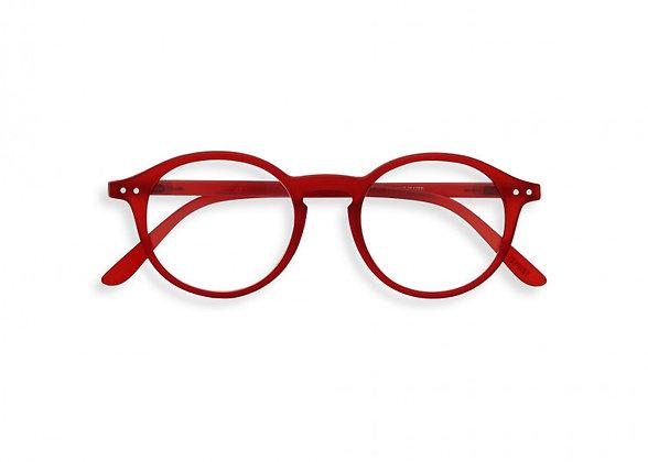Occhiali da lettura #D Red Crystal