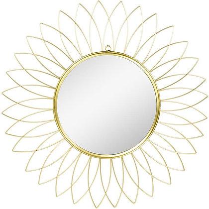 Specchio da parete Oro