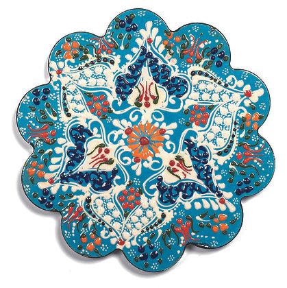 Sottopentola in ceramica - Azzurro