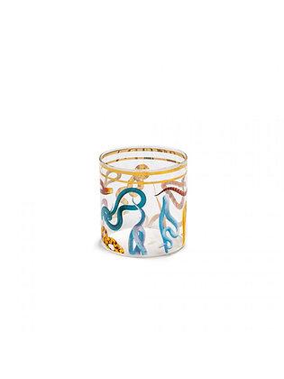 Bicchiere Acqua Toiletpaper - Snakes