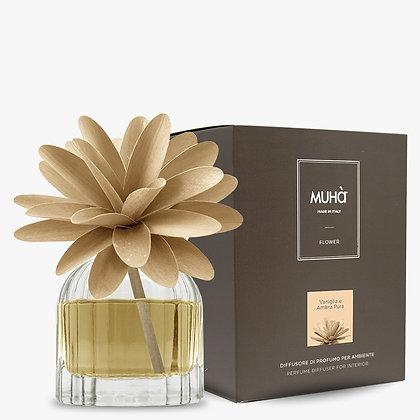 Profumatore d'ambiente Flower - VANIGLIA E AMBRA PURA 60 ml