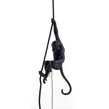 Monkey Lamp Ceiling Black