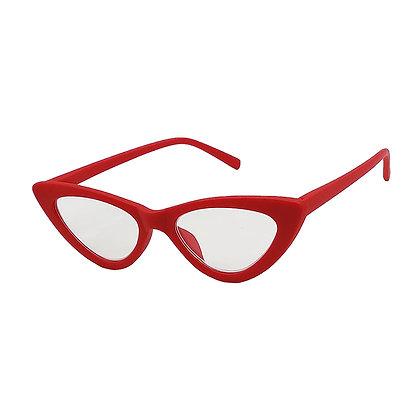 Occhiali da lettura Gatto - Rosso