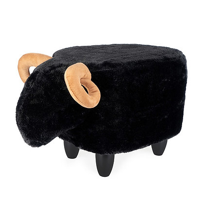 Sgabello Le Mouton - Nero
