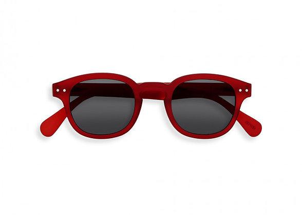Occhiali da sole #C Red crystal