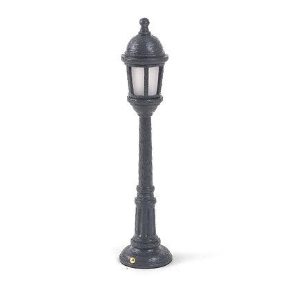 Street Lamp Dining Black