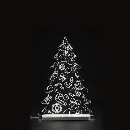 Albero di Natale LED Piccolo - Texture