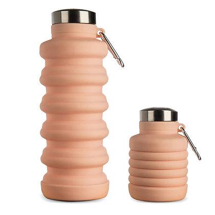 Bottiglia pieghevole in silicone - Vari colori