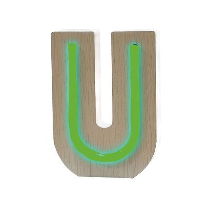 Lettere NEON - U