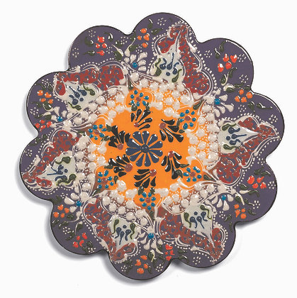 Sottopentola in ceramica - Viola