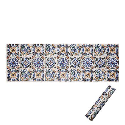 Tappeto/Passatoia 180x60 - Blu, Arancio