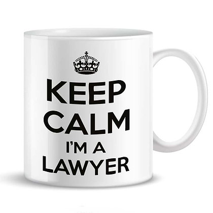 Tazza KEEP CALM I'M A LAWYER