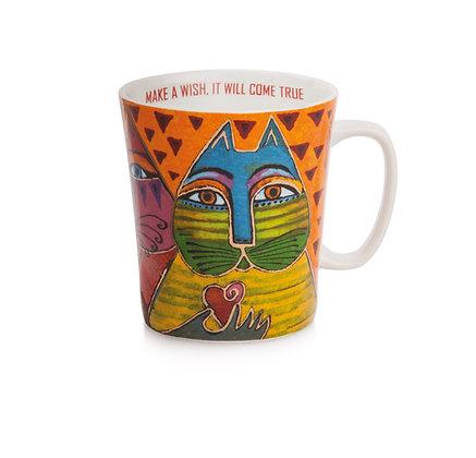Mug Laurel Burch arancio