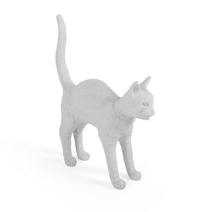 Cat Lamp Jobby White