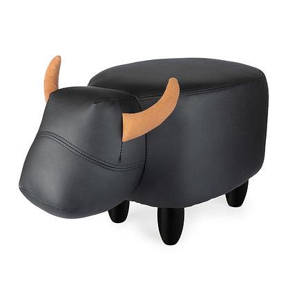 Sgabello La Vache - Nero