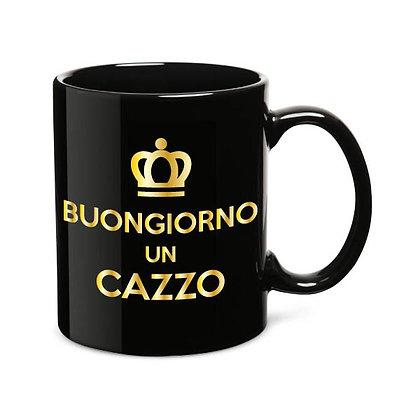Tazza BUONGIORNO UN CAZZO - Gold