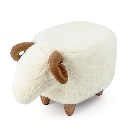Sgabello Le Mouton - Bianco