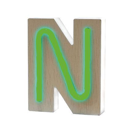 Lettere NEON - N
