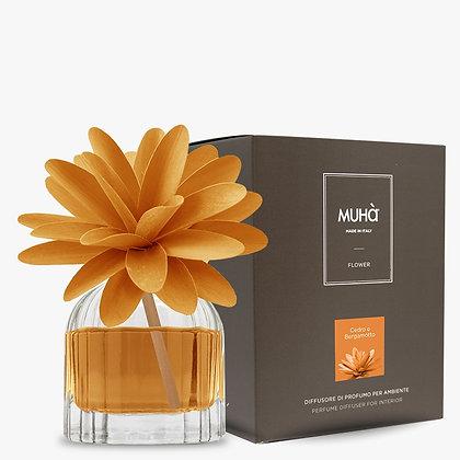 Profumatore d'ambiente Flower - CEDRO E BERGAMOTTO 60 ml