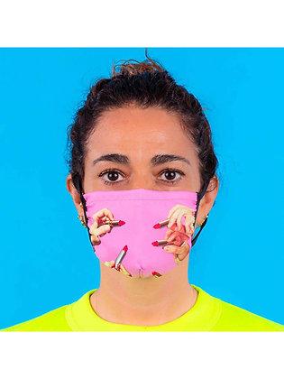 Mascherina Toiletpaper - Lipstick Pink