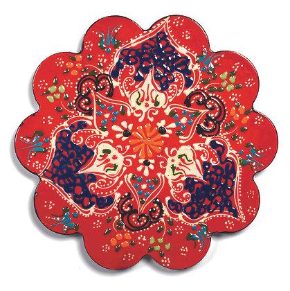 Sottopentola in ceramica - Rosso