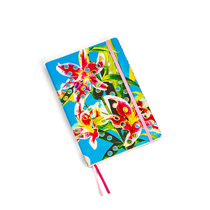Toiletpaper Notebook Big Flowers with Holes