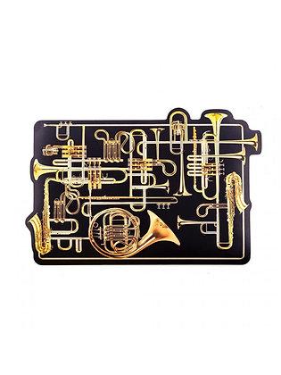 Tovaglietta Toiletpaper - Trumpets