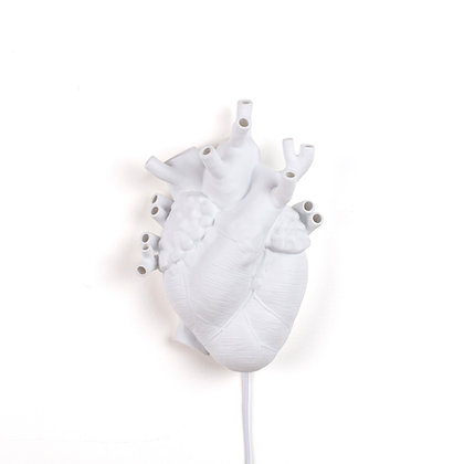 Love in Bloom Heart Lamp