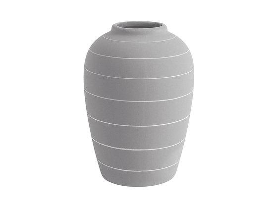 Vaso H 18,5 - Grigio