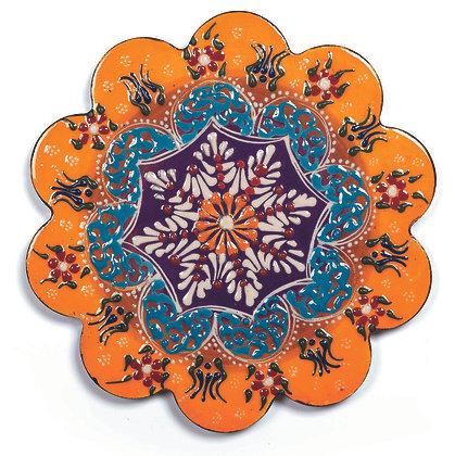 Sottopentola in ceramica - Arancione