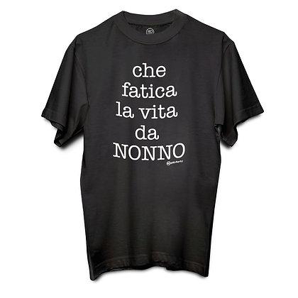 T-shirt CHE FATICA LA VITA DA NONNO