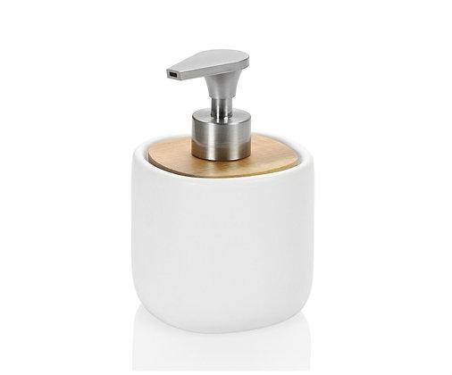 Dispenser Bianco/Acacia
