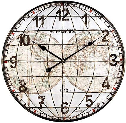Orologio da parete Mappamonde
