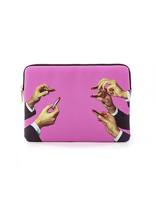 Custodia Laptop Lipsticks Pink
