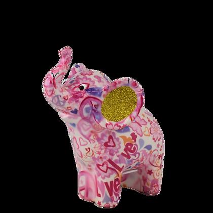 Salvadanaio Piccolo Elefante - Varie fantasie