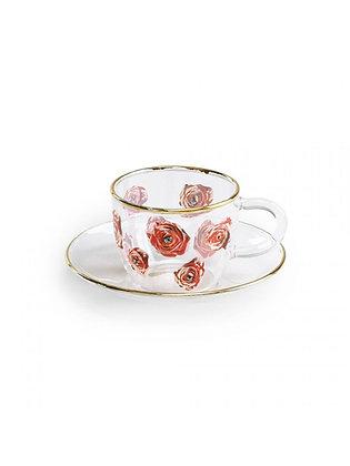 Tazzina caffè Toiletpaper - Roses