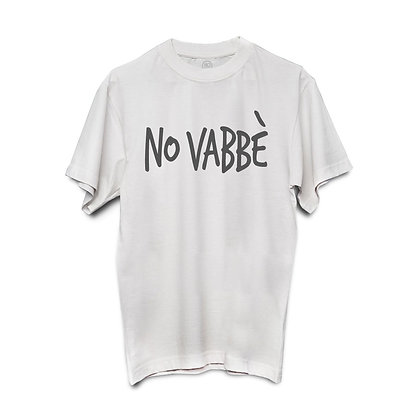 T-shirt NO VABBÈ