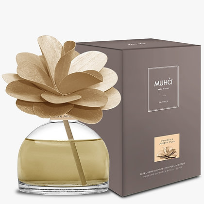 Profumatore d'ambiente Flower - VANIGLIA E AMBRA PURA 200 ml