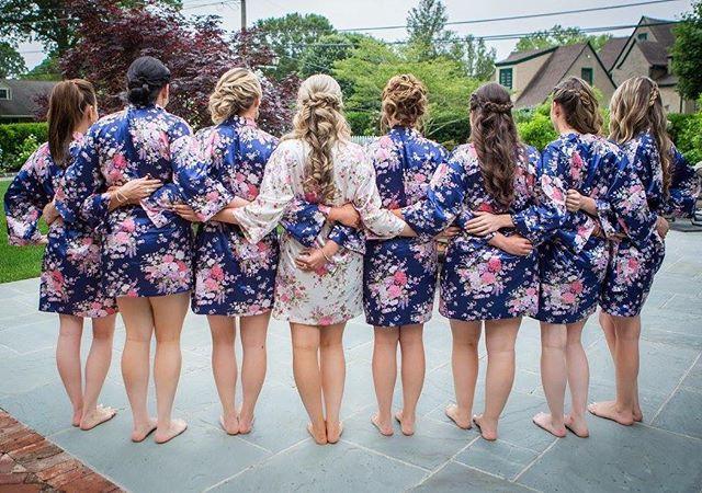 My beautiful bridal party ! #hairbyme #u