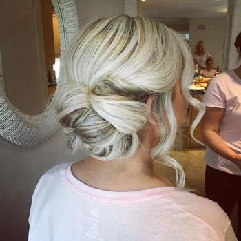 MDW wedding 💕💕 Hair by me #updosbylisa