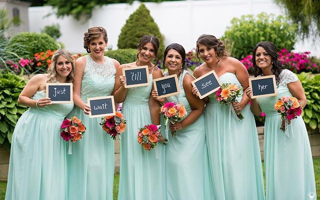 Some of my gorgeous #bridesmaids .. #sum