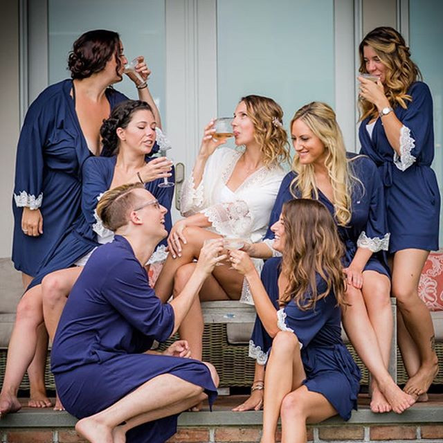 Bridal party goals 🙌🏻 Hair by me @updo