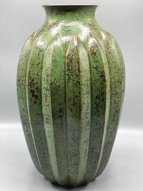 Copper Vase Green Patina
