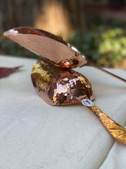 Polished Copper Scoop